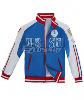 Yuri on Ice YURI!!!on ICE Plisetsky Yuri Sportswear Coat Cosplay Costume