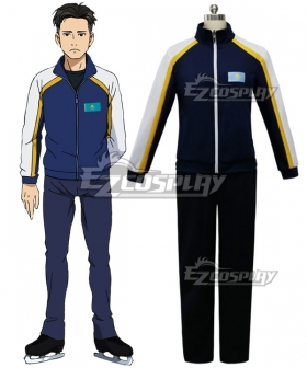 Yuri on Ice YURI!!!on ICE Otabek Altin Sportswear Suit Outfit Cosplay Costume - B Edition