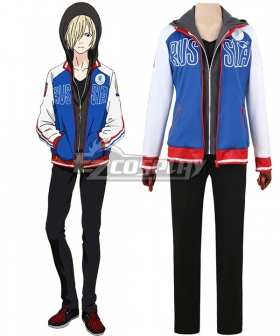 Yuri on Ice YURI!!!on ICE Plisetsky Yuri Sportswear Suit Outfit Cosplay Costume