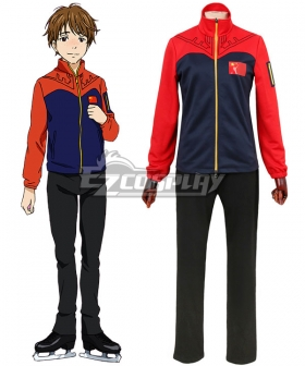 Yuri on Ice YURI!!!on ICE Ji Guanghong Sportswear Suit Outfit Cosplay Costume - A Edition