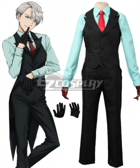 Yuri on Ice YURI!!!on ICE Victor Nikiforov Cosplay Costume