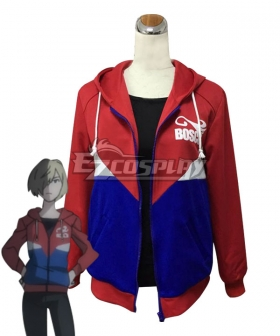 Yuri on Ice YURI!!!on ICE Plisetsky Yuri Sportswear Suit Cosplay Costume - ONLY COAT