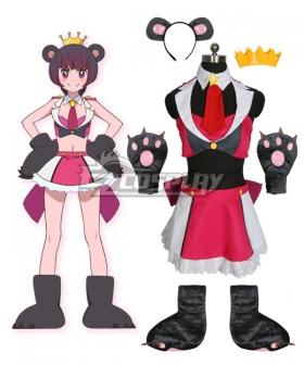 Yuri Kuma Arashi Love Bullet Yuri Kuma Arashi Ginko Yurishiro Bear Cosplay Costume