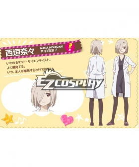 Yuru Yuri San☆Hai! Yuru Yuri San Hai!  Nishigaki Nana Cosplay Costume