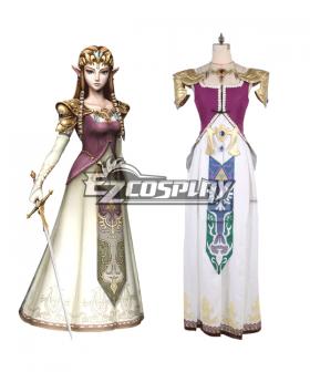 The Legend of Zelda Zeruda no Densetsu Twilight Princess Princess of Hyrule Zelda Zeruda-hime Cosplay Costume