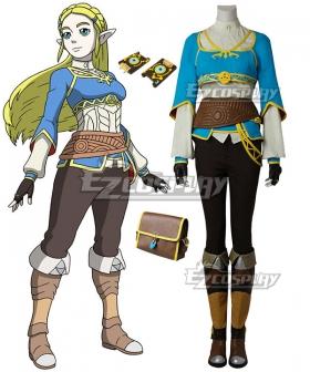 The Legend of Zelda: Breath of the Wild Princess Zelda Cosplay Costume - No Boot