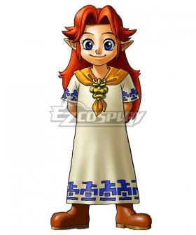 The Legend of Zelda Malon Artwork Cosplay Costume