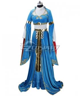 The Legend of Zelda: Breath of the Wild Princess Zelda Botw Cosplay Costume