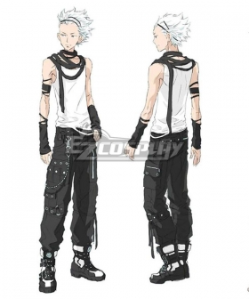Zero Escape: The Nonary Games Santa Aoi Kurashiki Cosplay Costume