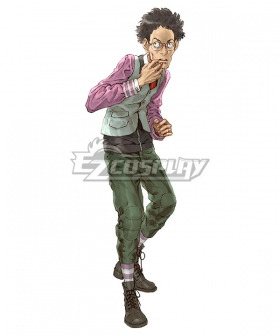 Zero Escape Teruaki Kubota the Ninth Man Bird's Nest Cosplay Costume