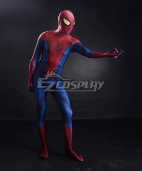 Marvel Spiderman 2015 The Amazing Spider-man 3D Original Movie Cosplay Costume