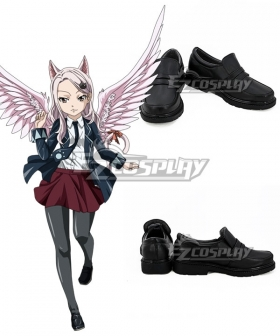 Fairy Tail Carla Black Cosplay Shoes