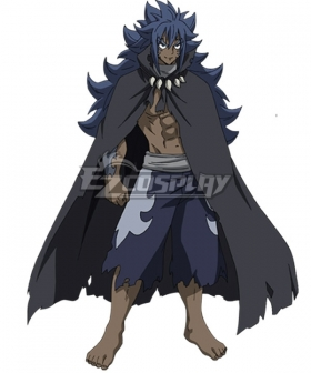 Fairy Tail Human Acnologia New Edition Cosplay Costume