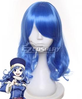 Fairy Tail Juvia Lockser Blue Cosplay Wig