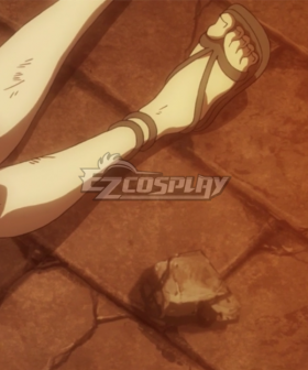 Fairy Tail Lucy Heartfilia Brown Cosplay Shoes