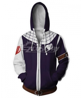 Fairy Tail Natsu Dragneel Coat Hoodie Cosplay Costume