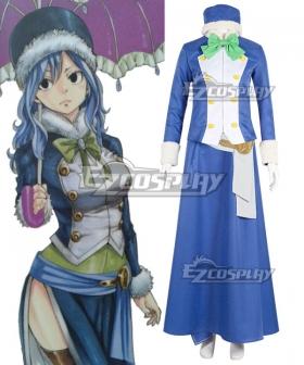 Fairy Tail Season 3 Juvia Lockser Cosplay Costume