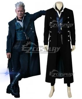 Fantastic Beasts 2: The Crimes of Grindelwald Gellert Grindelwald Cosplay Costume