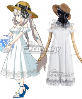 Fate Grand Order Caster Marie Antoinette Swimsuit Cosplay Costume