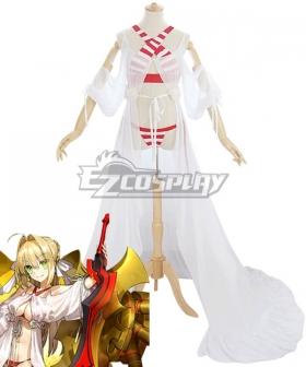 Fate Grand Order Caster Saber Nero Claudius Swimsuit Cosplay Costume