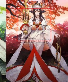 Fate Grand Order FGO Berserker Kijyo Koyo Stage 2  Black Cosplay Wig