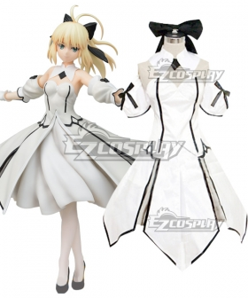 Fate Grand Order FGO Saber Lily Artoria Pendragon Cosplay Costume