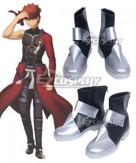 Fate Kaleid Liner Prisma Illya Shirou Emiya Archer Silver Cosplay Shoes