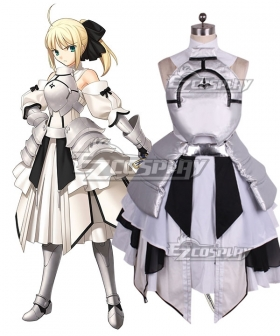 Fate Stay Night Fate Grand Order Saber Lily Artoria Pendragon Cosplay Costume