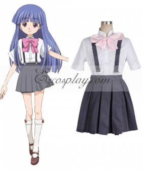Higurashi When They Cry Rika Furude Cosplay Costume