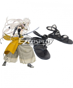 Touken Ranbu Kogitsunemaru Black Cosplay Shoes