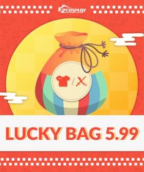 Ezcosplay Lucky Bag1 PC Random Halloween Cosplay Costume  (Up to Value $59.99)