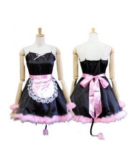 Cosplay Pussy Cat Maid Uniform Lolita Cosplay Costume