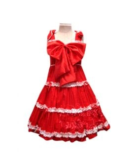 Bow Princess Dress Lolita Cosplay Costume ELT0030