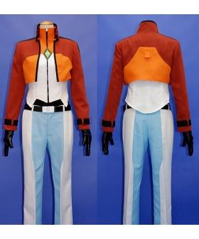 Gundam Allelujah Haptism Cosplay Costume