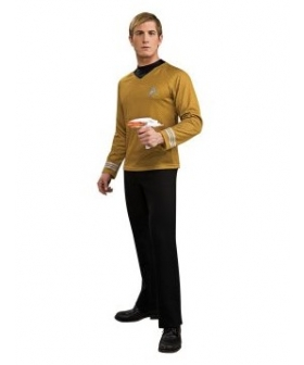 Star Trek Movie 2009 Gold Shirt Adult Costume