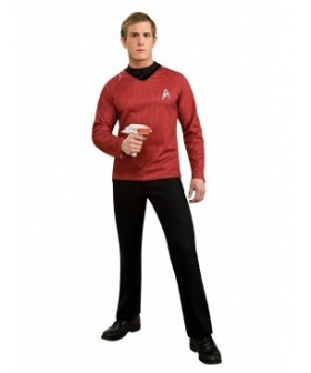 Star Trek Movie 2009 Red Shirt Adult Costume