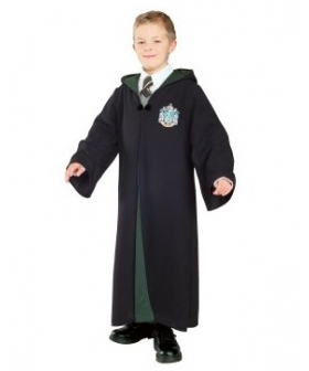 Harry Potter & The Half-Blood Prince Deluxe Slytherin Robe Child Costume EHP0005