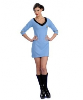Star Trek Secret Wishes Blue Dress