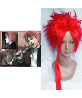 Final Fantasy VII Reno Cosplay Wig