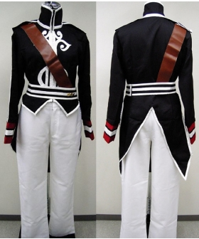 Luke Black Cosplay Costume from Tales of the Abyss ETA0001