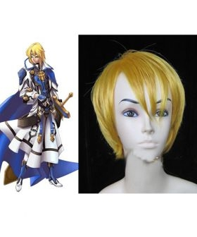 Guilty Gear Ky Kiske Gold Cosplay Wig