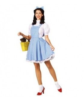 The Wizard of Oz Dorothy Adult Costume EWO0003