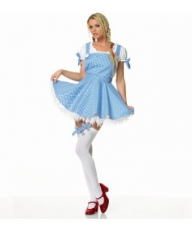 Wizard of Oz Dorothy Apron Dress Adult Costume EWO0007