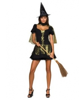 Wizard of Oz Sexy Wicked Witch of the West Adult Costume EWO0010