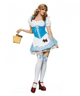 Wizard of Oz Dorothy Girl Adult EWO0011