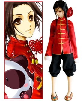 China Wang Yao Cosplay Costume from Axis Powers Hetalia