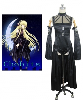 Freya Black Cosplay Costume from Chobits