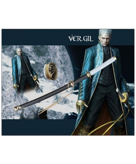 Devil May Cry Vergil Cosplay Sword