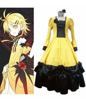 Vocaloid Rin Kagamine Yellow Cosplay Costume
