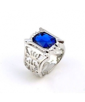 Black Butler  Ciel Phantomhive Cosplay Sapphire Ring